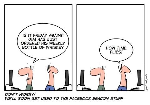 Det er ikke kun tidsforbruget, der kan være kritisk for en virksomhed, hvis medarbejdere bruger facebook.